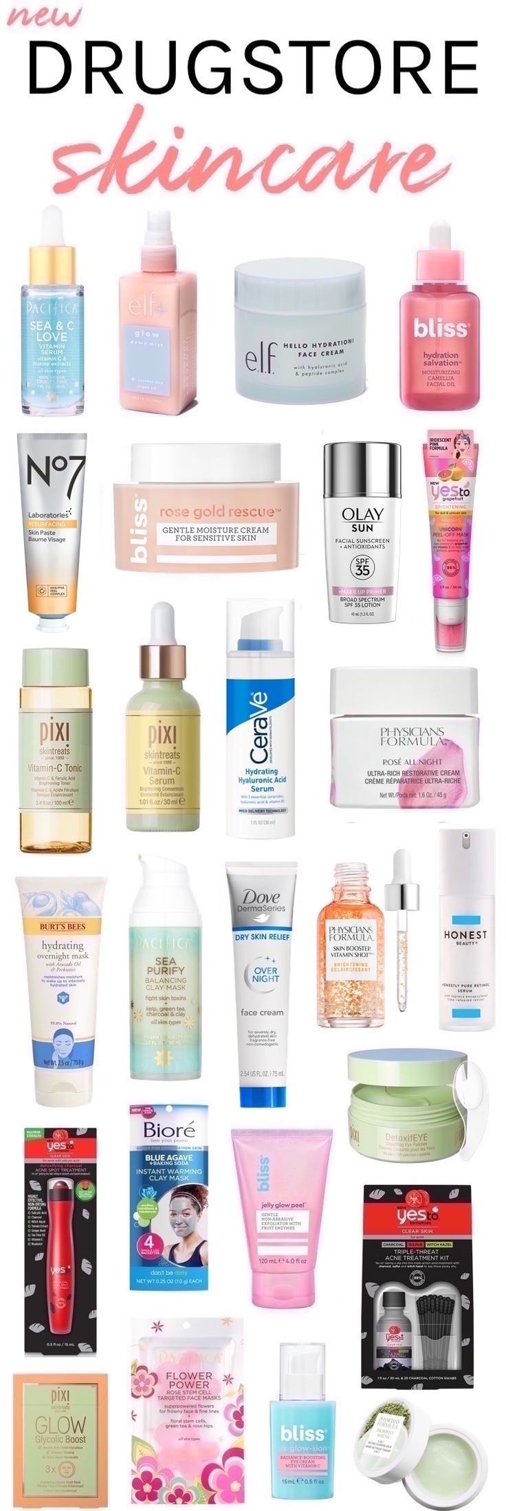 27 New Drugstore Skincare Picks You Won't Want to Miss! 27 New Drugstore Skincare Picks You Won't Want to Miss!