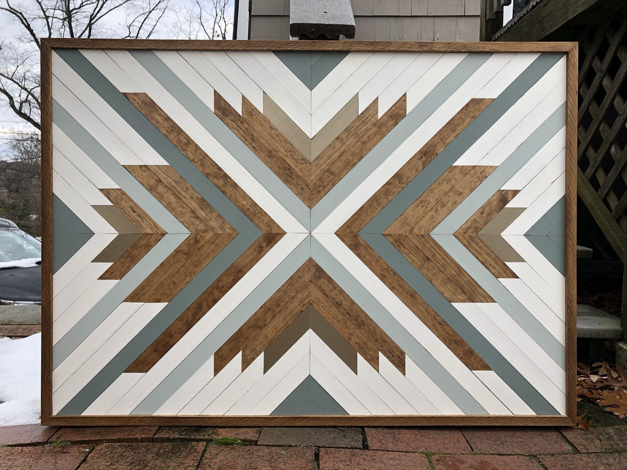 Geometric Wood Art Wood Wall Art Diy Geometric Wall Art Wood