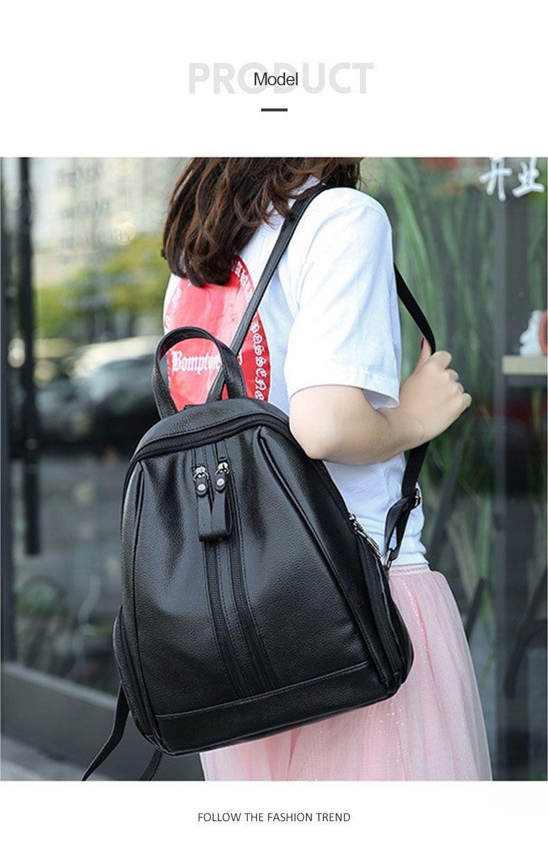 Large-capacity Cartoon Canvas Shoulder Bag Anti-theft Casual Slant Bag Fashion Shopping Bag