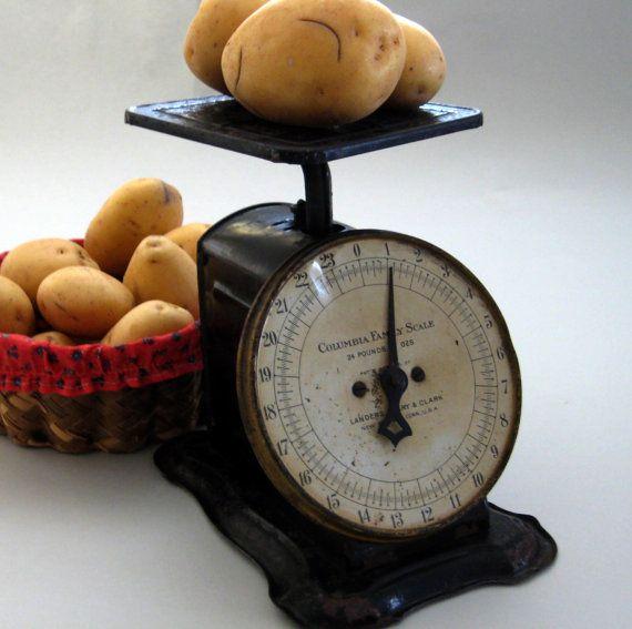 Etonnant Antique Scales Vintage Kitchen Scales By LoveItBuyIt On Etsy
