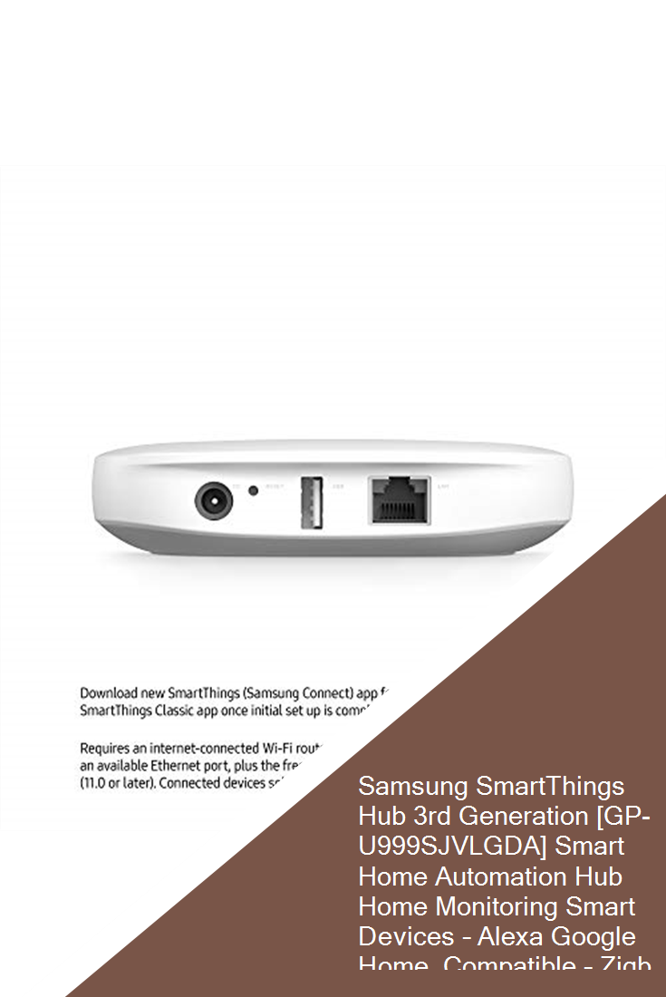 Samsung Smartthings Hub 3rd Generation