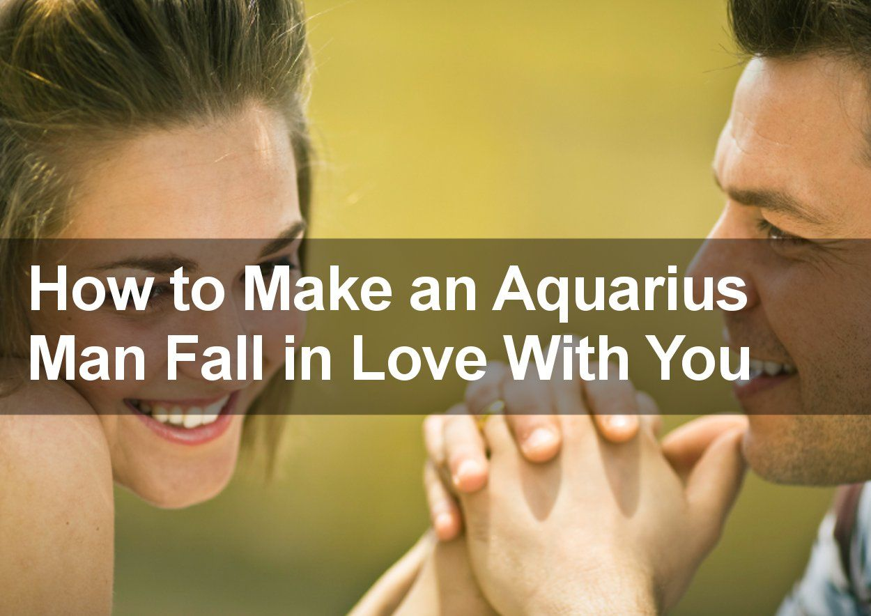 Attract And Seduce The Aquarius Man - 7 Essential Steps -2755