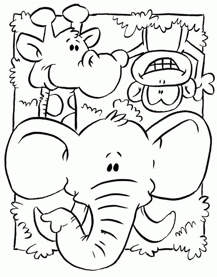 Pin By Mitsuko On Coloring Pages Zoo Animal Coloring Pages