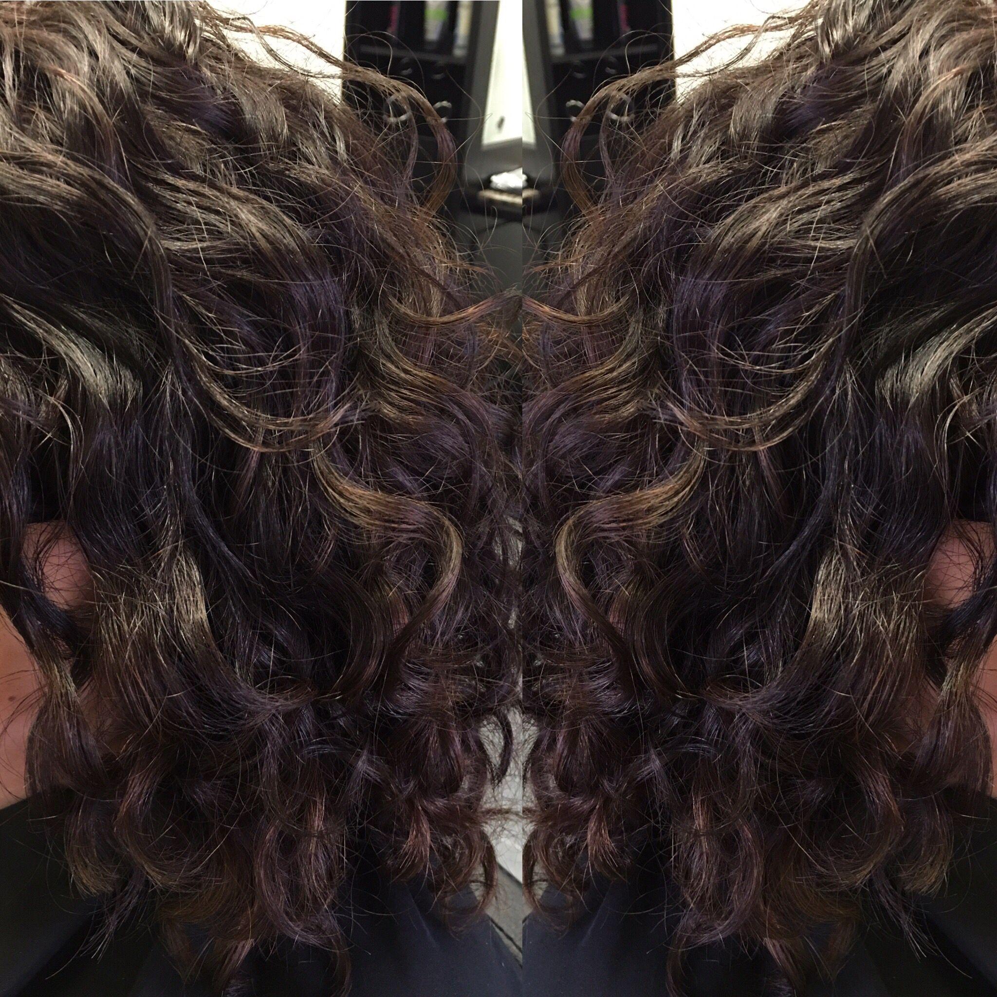 Devacurl Waterfall Haircut Curly Hair By Devacurl Inspired Stylist Hair By Jody Brinkmeier Hair Studio Long Hair Styles Deva Curl
