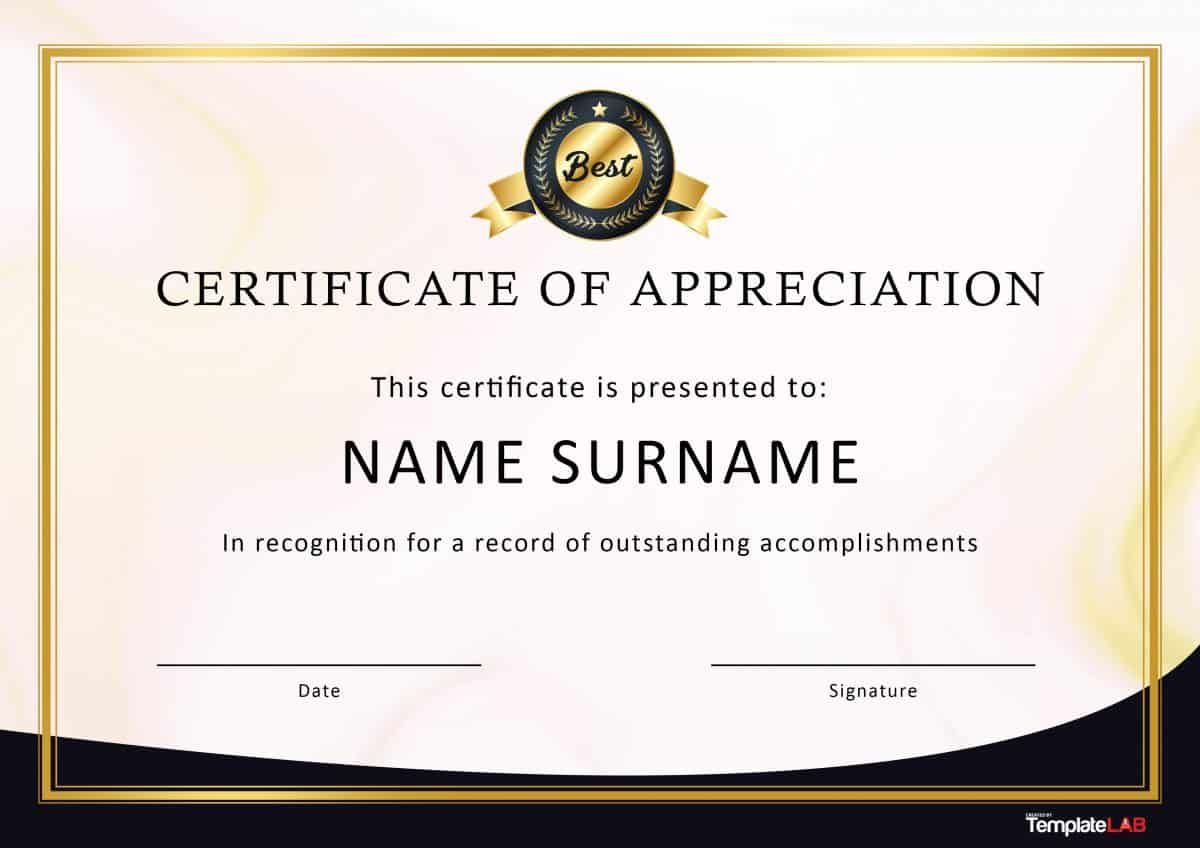 Employee Recognition Certificates Templates Free Dalep Intended Free Certificate Templates Certificate Of Appreciation Certificate Of Participation Template
