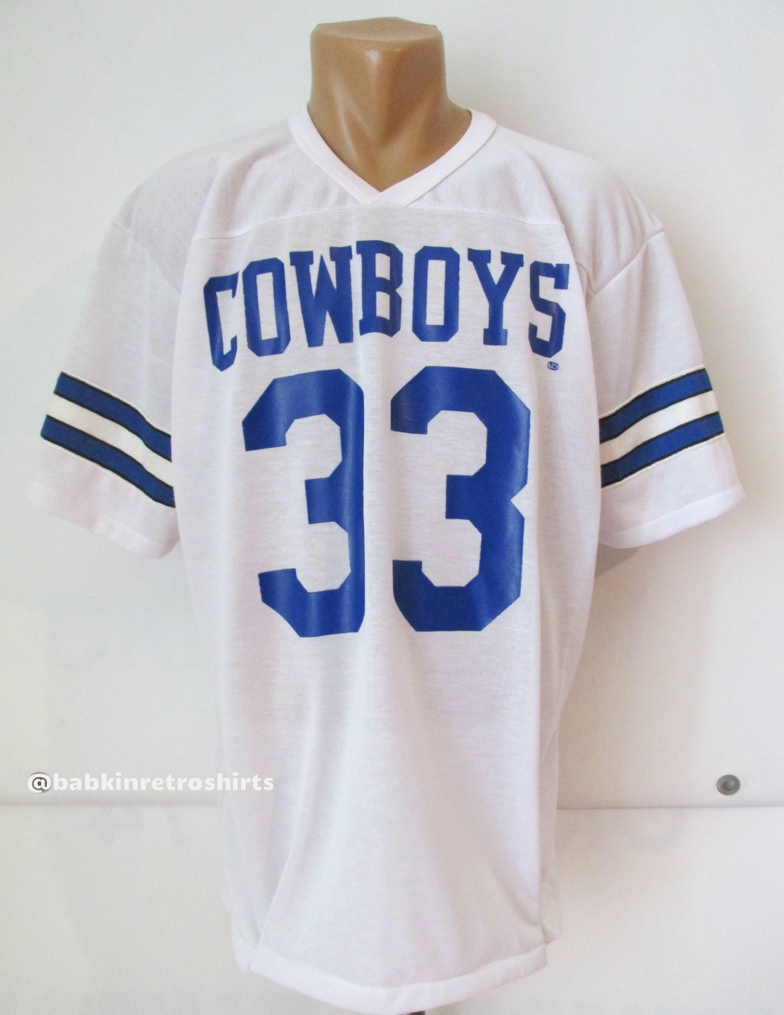 Dallas Cowboys NFL vintage Tony Dorsett  33 football jersey by Rawlings USA  80s retro  nfl  jersey  forsale  vintage  vintagestyle  80s  dallas   cowboys   ... 83d5ee6eb