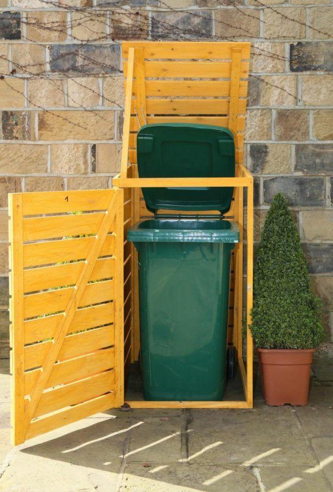 Mulltonnenbox Selber Bauen Klein Model Handwerker Hobby Gartner Mulltonnenbox Selber Bauen Mulltonnenbox Moderne Gartenentwurfe