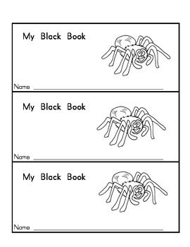 free! 4 Colors Books: Pink, Black, Brown, White & Black