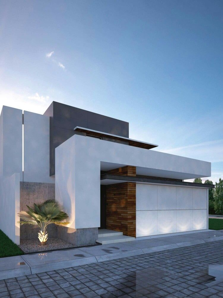 Love the big wall s design makes it looks so unbreakable for Modern exterior wall design