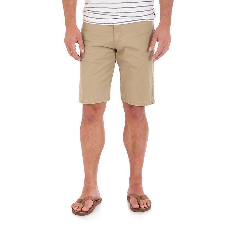 Wrangler Men's Athletic Fit 5 Pocket Short (Size: 36) Khaki ...