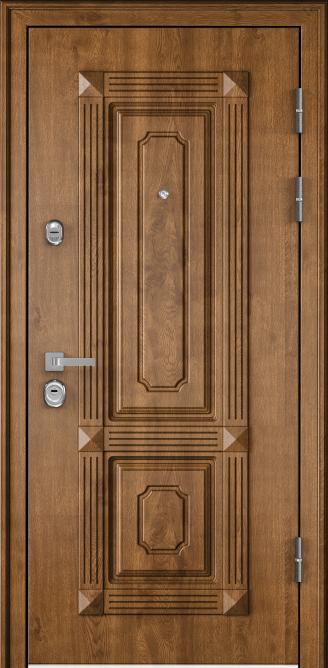 Steel door Torex PROFESSOR-4 + 02 PP (Honey Oak, Met …