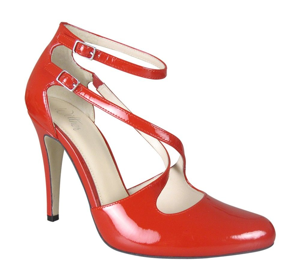 e6dce0b6c41 Wittner shoes, Latanya patent heels | Loves | Shoes, Heels, Patent heels