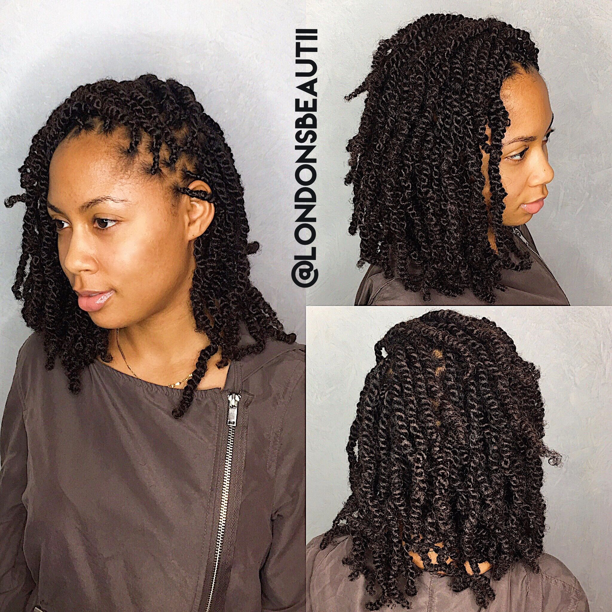 Twisties Hairstyles Adorable Spring Twist Donelondon's Beautii In Bowie Marylandwww