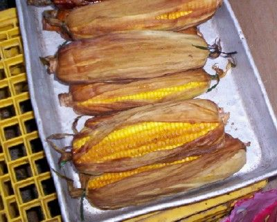 Step by Step Smoked Corn on the Cob