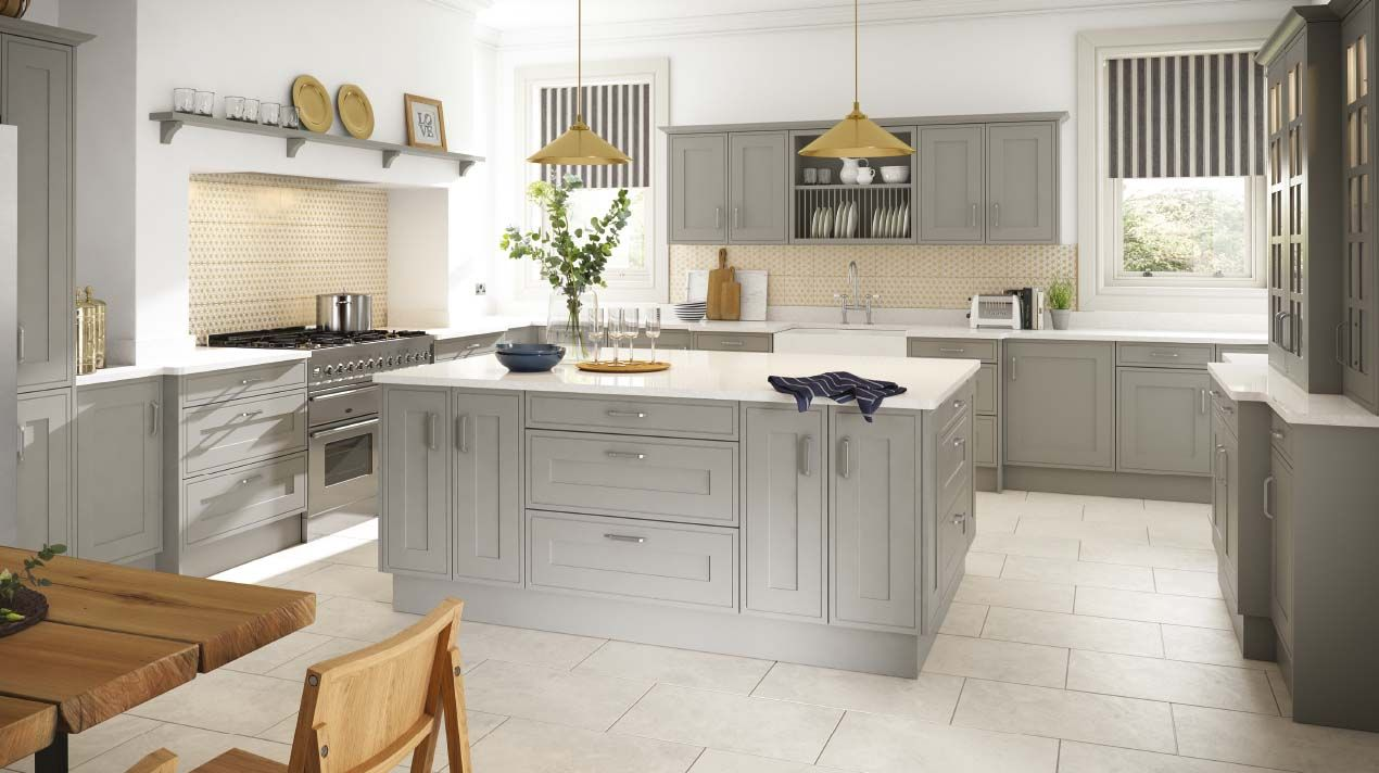 Explore Grey Shaker Kitchen And More! Part 79