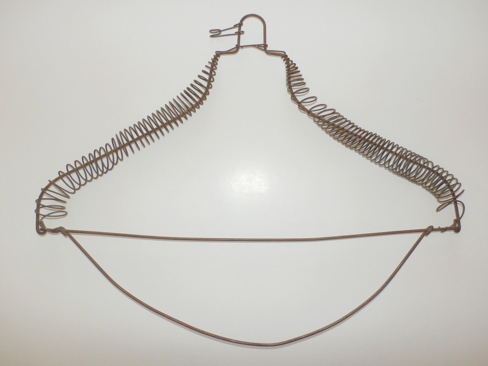 antique RARE 1800\'s Antique Vintage LOOP TOP DeLuxe Coiled Wire ...