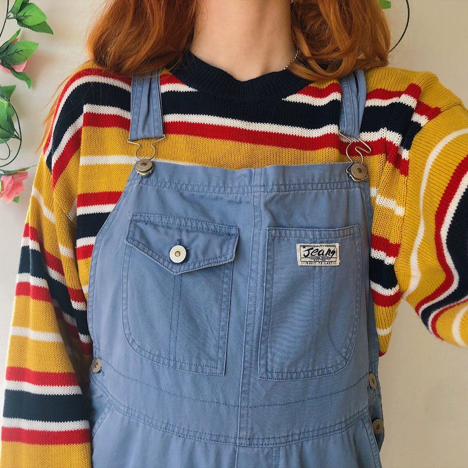 18576d690 Listed on Depop by mathildamai in 2019 | Fashion Inspo | Dungarees ...