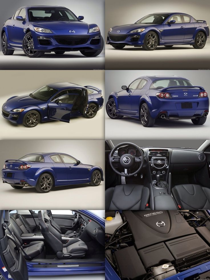Nice Mazda Now Have This Beauty In All Black And Baby Blue Seats See More About Cars