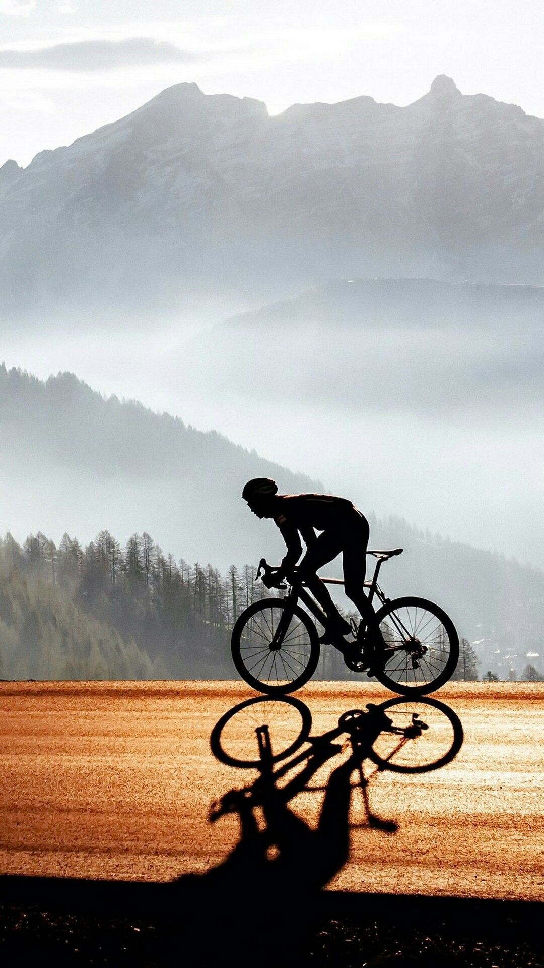 Pin By まるまさ On Sport Iphone Wallpaper Landscape Bicycle Wallpaper Cycling Photography