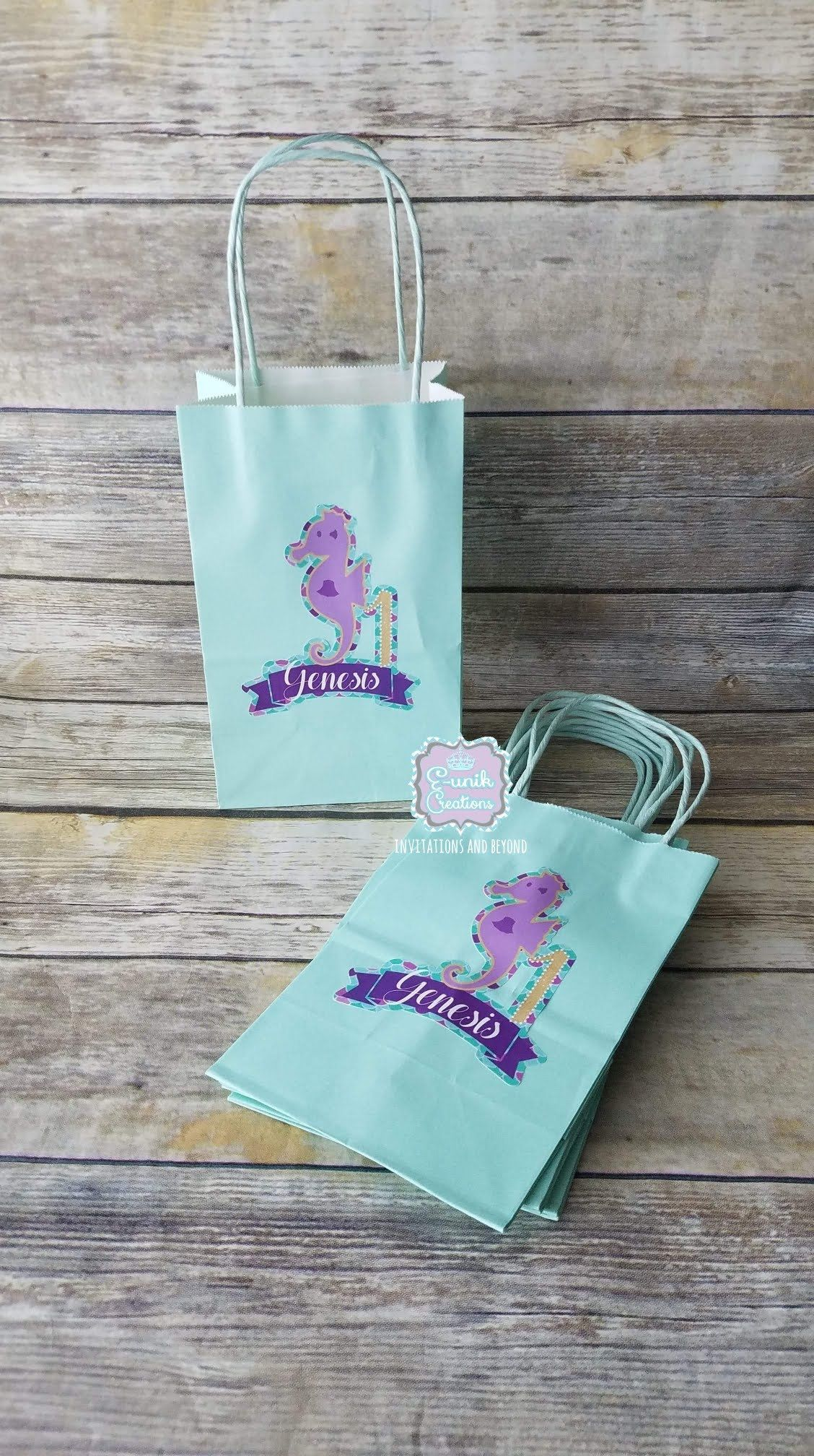 Paper Bag Unik : paper, Unavailable, Personalized, Treat, Bags,, Candy