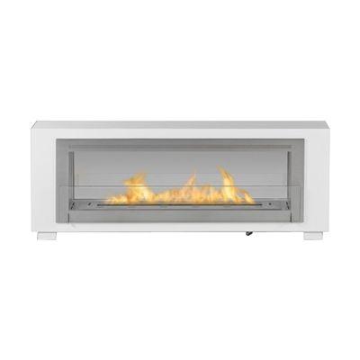 Eco-Feu WS-000 Santa Cruz 2-Sided Freestanding Fireplace ...