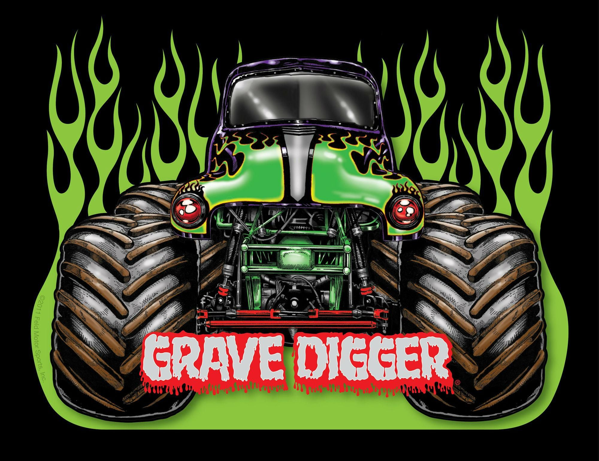 Grave Digger Wallpapers Monster Trucks Monster Jam Monster Trucks Birthday Party