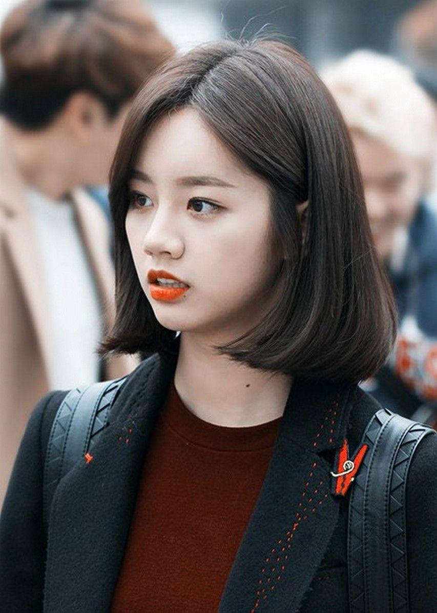 Pin By Shaira Leosala On Hair Makeup Kpop Short Hair Korean Short Hair Short Hairstyles For Thick Hair