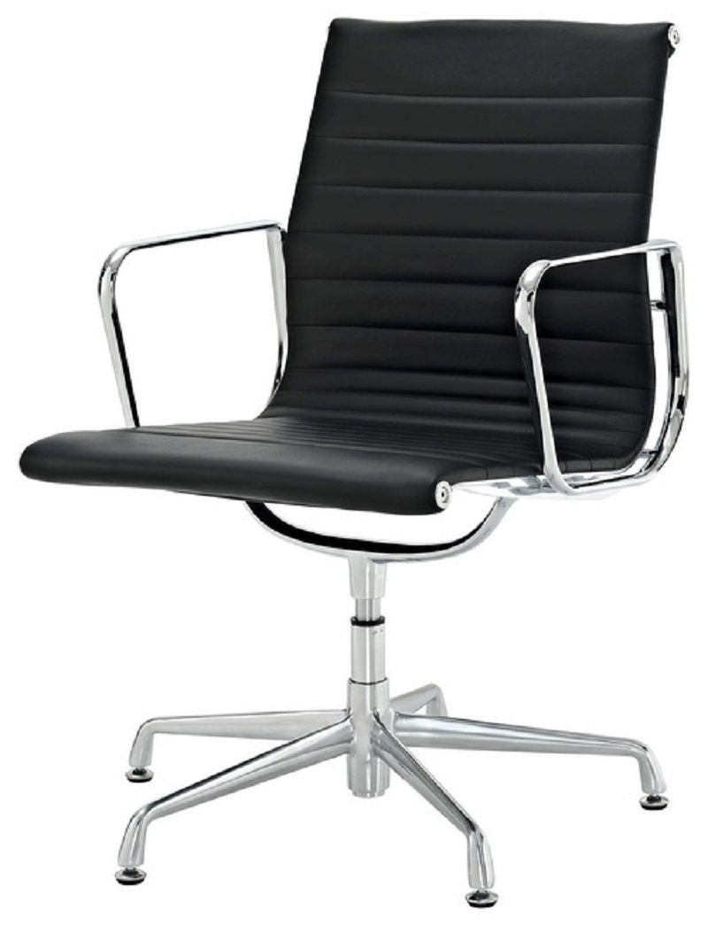 Ribbed Mid Back Conference Room Chairs With Casters Conference Room Chairs White Leather Chair Chair Conference room chairs with casters