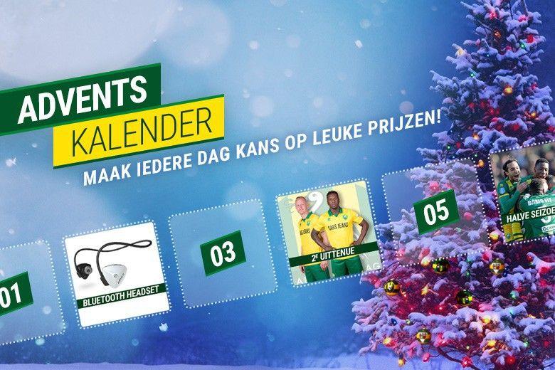 Tot en met 24 december elke dag prijs met de Adventskalender! - ADO Den Haag