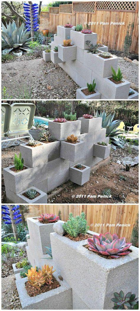 Make A Cinder Block Wall Planter – Free Tutorial 22 Diy 400 x 300