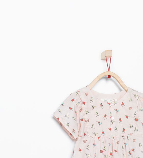 ZARA - SALE - Bird print shirt