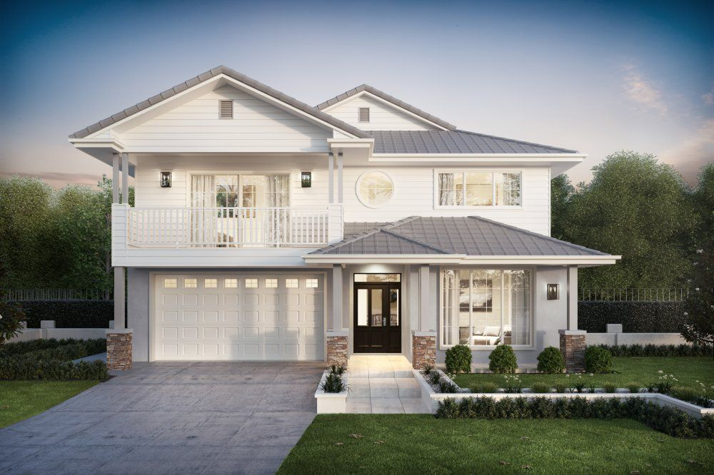 The Madison City 40 By Clarendon Homes Is A Balance Between Modern