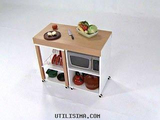 Decoraci n grandes ideas espacios chicos mueble for Utilisima cocina