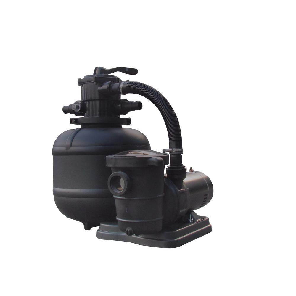 Flowxtreme 15 in sand filter system for above ground