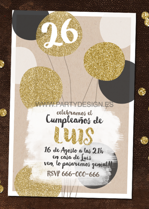 Invitaciones party designparty design invitaciones - Ideas originales para cumpleanos adultos ...