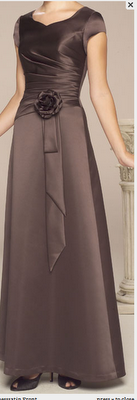 Gorgeous and modest. I would love this dress....