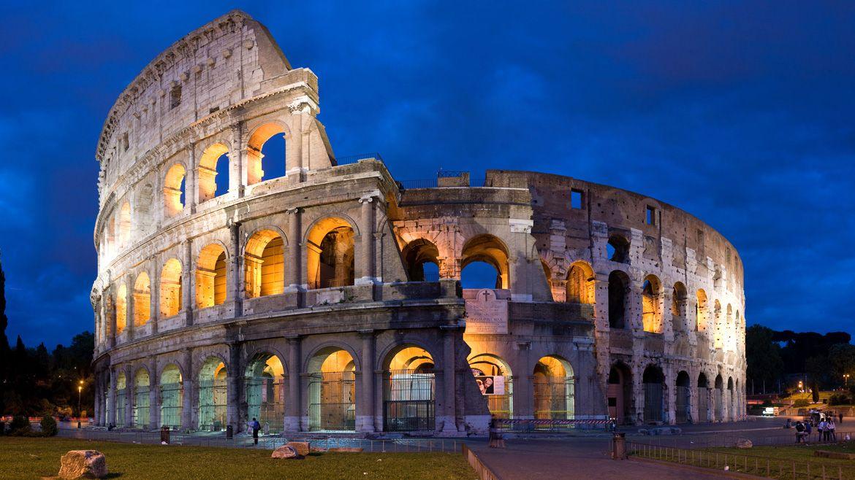 Coliseo Romano El Coliseo Es Un Anfiteatro De La época Del Imperio Romano Construido En El Siglo I Ubicado Colosseum Rome New Seven Wonders Famous Buildings