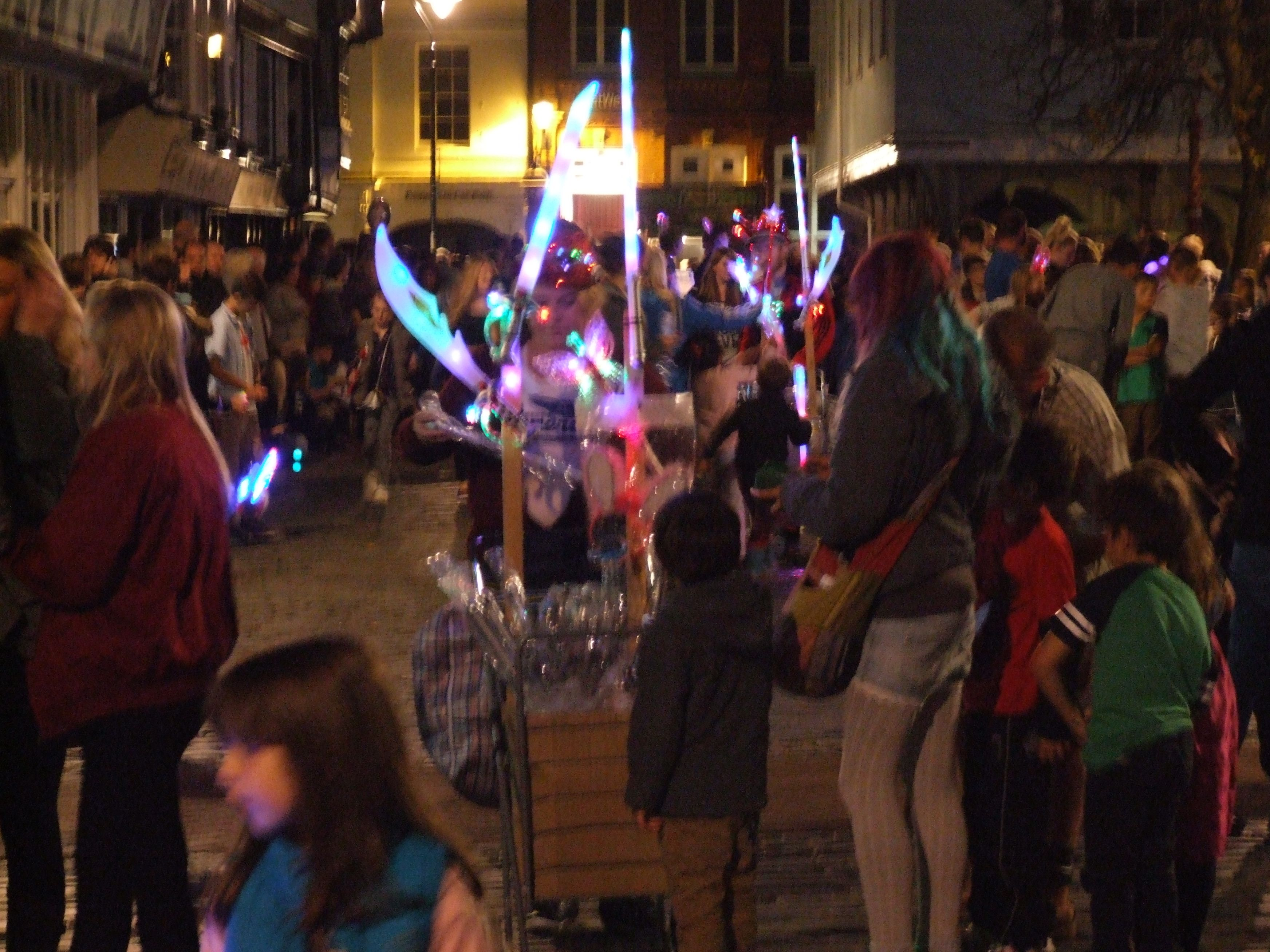 carnival night Faversham 2014