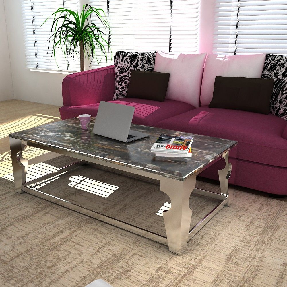 """Center Table With Granite Top""""alinahome #alinahome #table Cool Center Table Design For Living Room Design Inspiration"""
