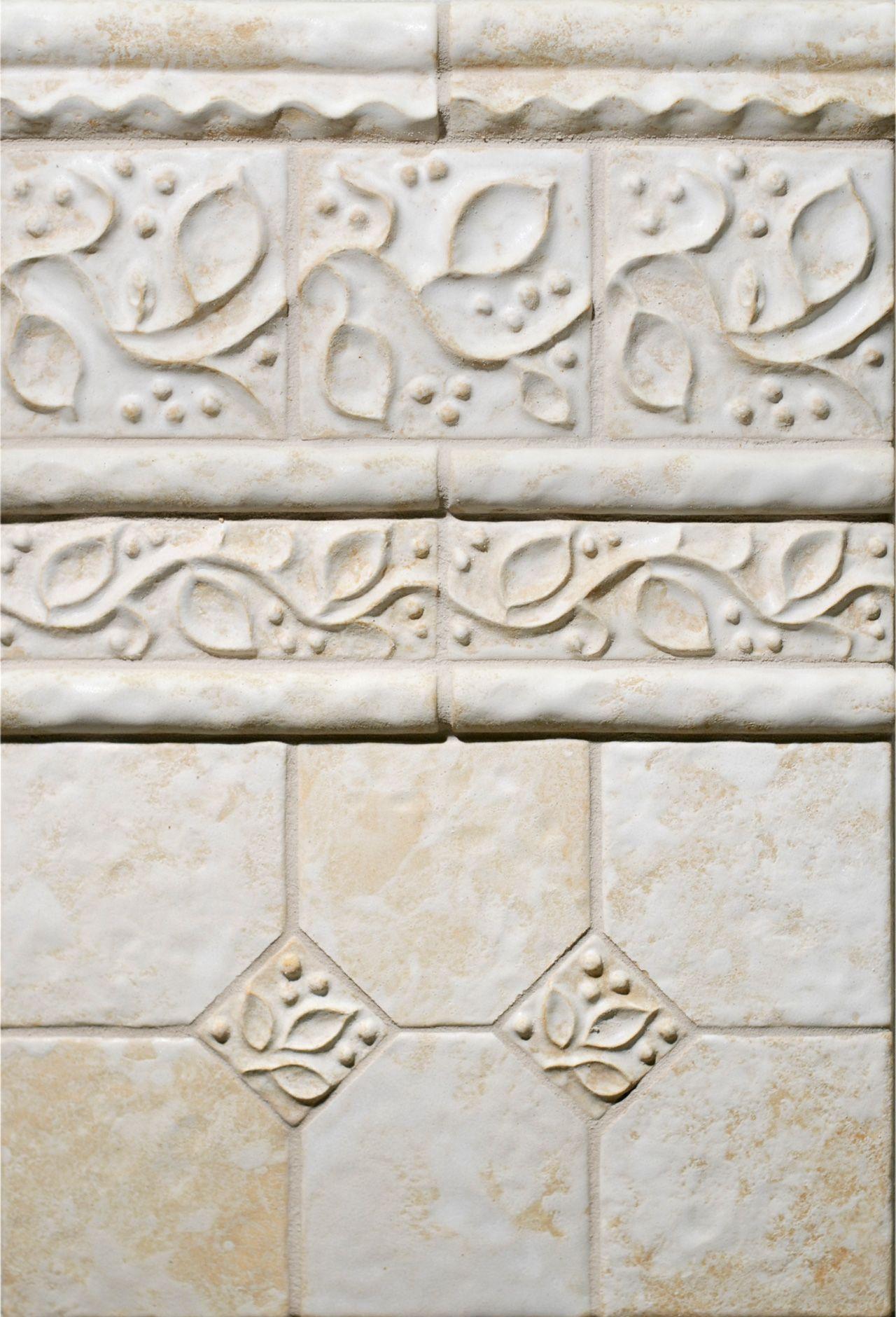 white ceramic tile field border molding bathroom design ideas ...