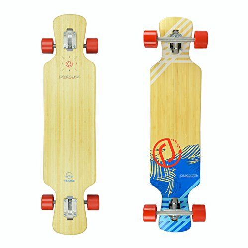 "Jaseboards Bamboo Surge Complete freeride downhill Longboard with Puka Ceramic bearings 38"" >>> See this great product."
