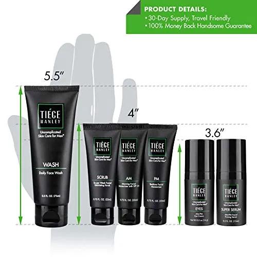 Tiege Hanley Men S Skin Care System Best Offer Luxclout Com In 2020 Skin Care System Mens Skin Care Skin Care