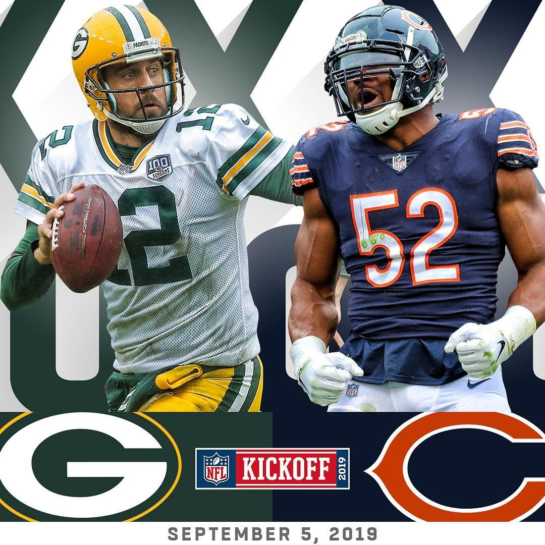 Nfl The Nfl S 100th Season Will Kick Off With Packers At Chicagobears On Thursday Nfl Packers Nfl Season