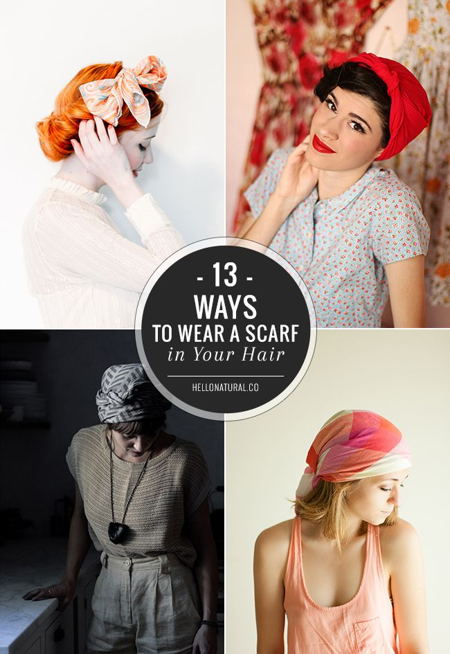 13 Chic Ways To Wear A Scarf In Your Hair Helloglow Co Ways To Wear A Scarf How To Wear Scarves Ways To Tie Scarves