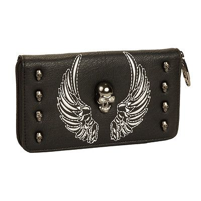 HW Collection Western Buckle Lace Crossbody Women Wristlet Clutch Small Purse Wallet Red