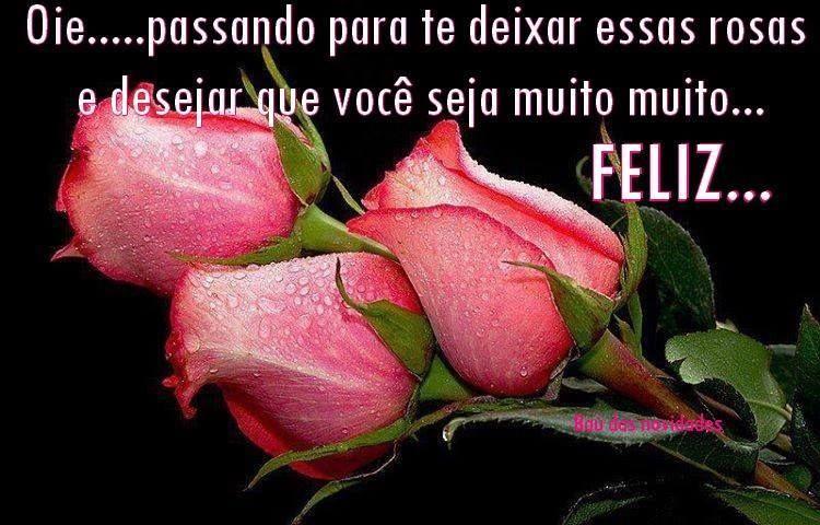 rosas para desejar a você feliz aniversário felicidades