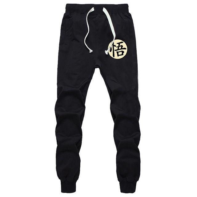 Dragon Ball Z Sweatpants (Black/Grey) Christ Sweatpants, Jogger
