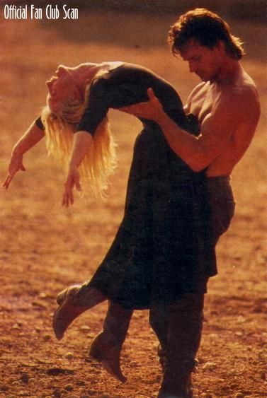 Patrick Swayze And Lisa Niemi..dance brought them together ...