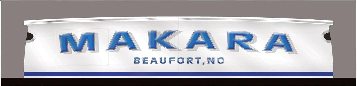 #TRANSOM: Beaufort North Carolina #Boat #Transom #BoatTransom TRANSOM #TECHNIQUE: #CustomBoatLettering #BOAT #BUILDER #BoatBuilder: #VikingYachts, #NewGretna, #NewJersey