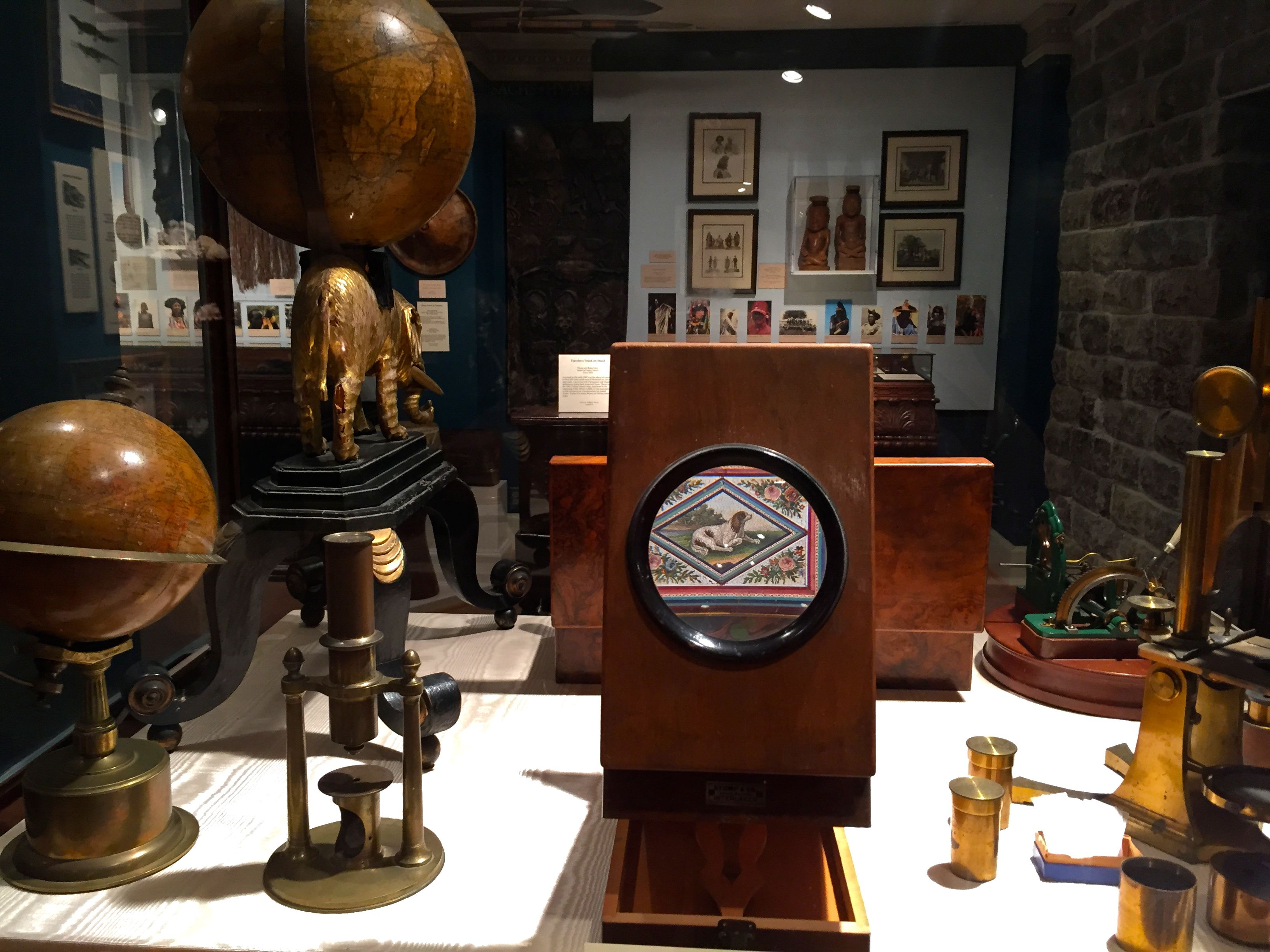 Science and Industry Room at the Lightner Museum